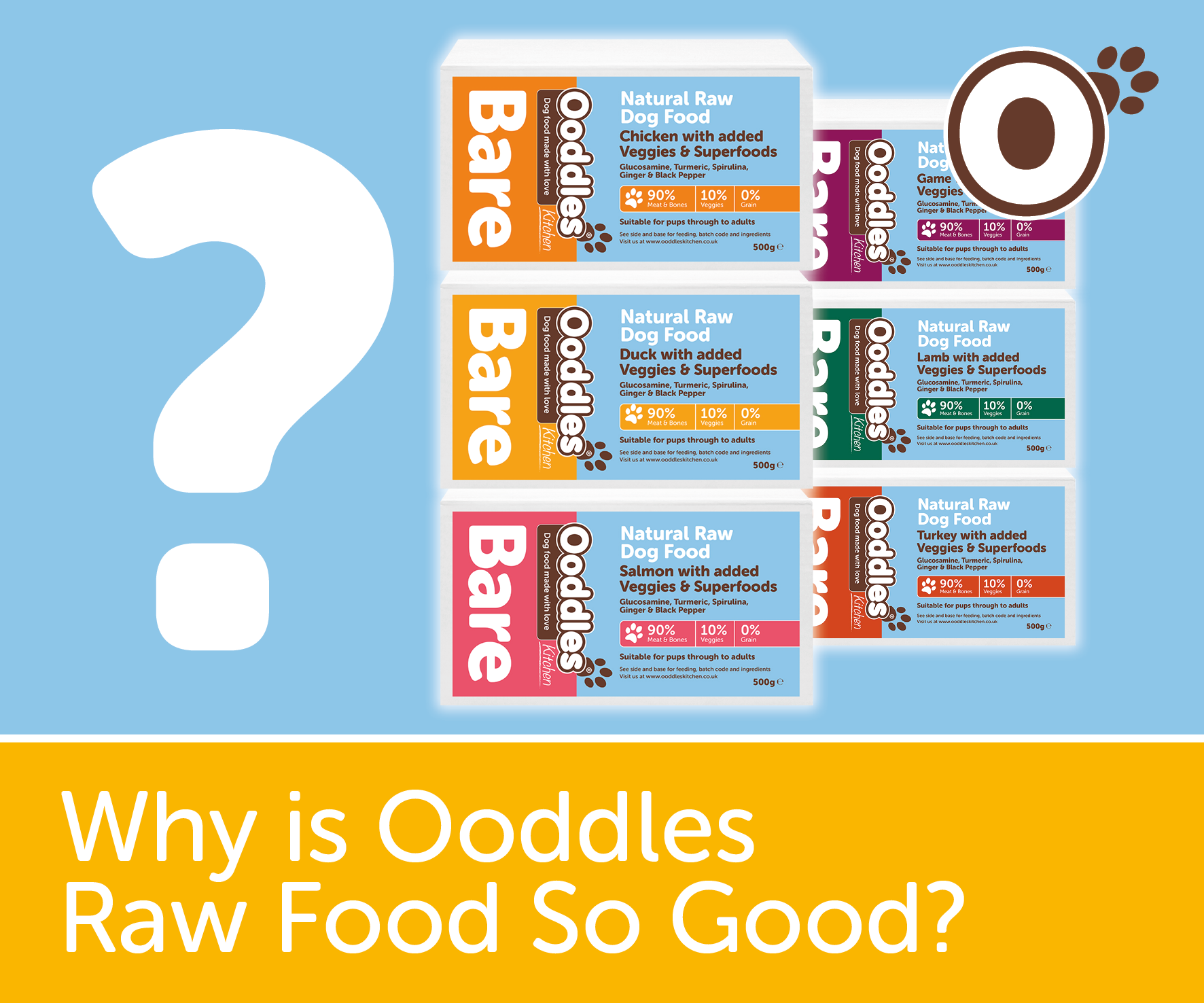 Why is Bare Ooddles Raw Is So Good.