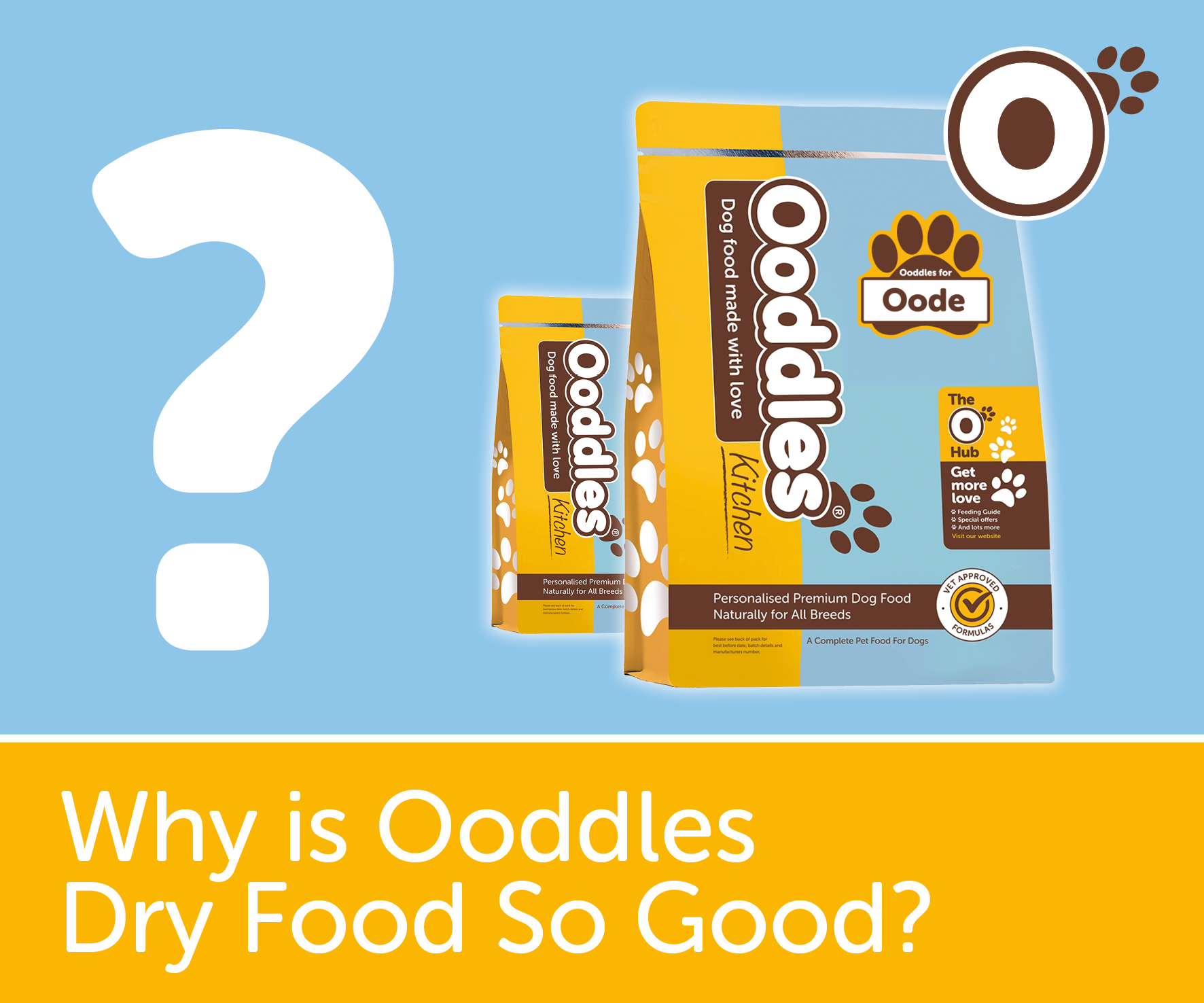 Why Ooddles Dry Food is so good